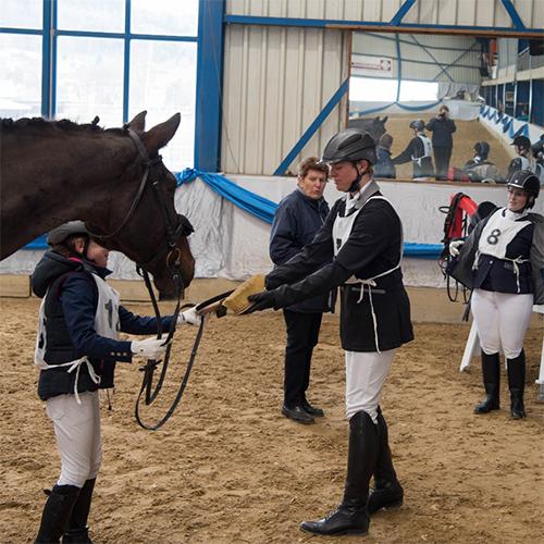 Grundausbildung Pferd Schweiz <br> im August